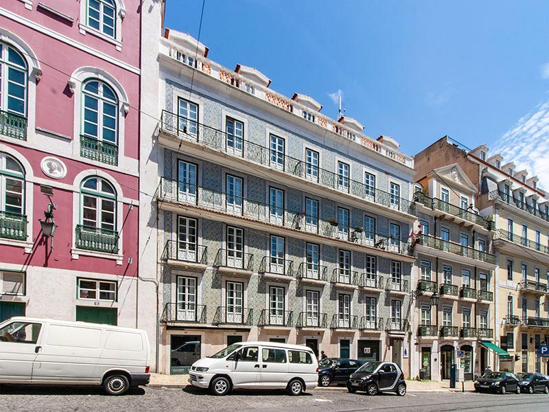 Real estate assets management in Chiado, Lisbon